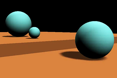 3D Animation, Bouncing Balls