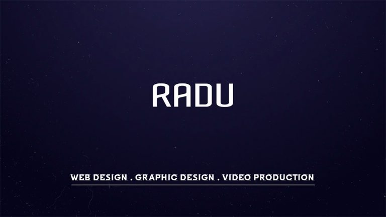 Radu Productions Promo Teaser